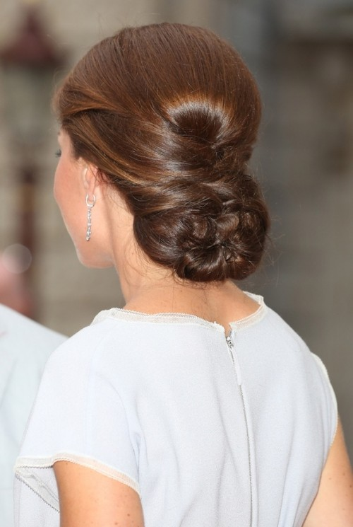 Kate Middleton dutch braided hairstyle