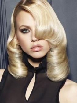 blonde cute and easy haisrtyle