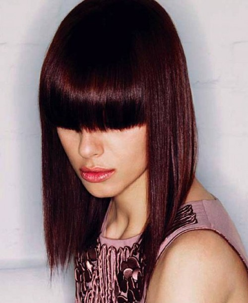 Dark Burgundy Hair on Dark Skin Dark Burgundy Hair Color For