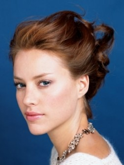 flirty updo hairstyles 2014