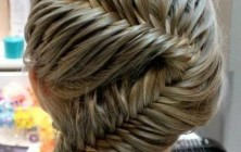 french fishtail braiding