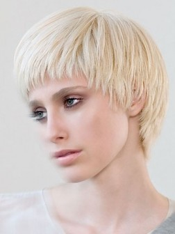 layered cropped short haircuts