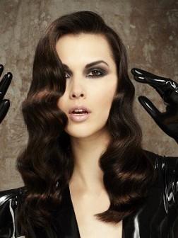 long elegant hairstyle