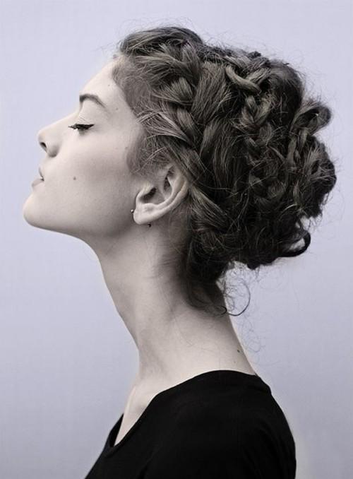 milkmaid braids hairstyles