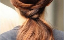 ponytails for long straight hairstyles