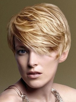 soft layered pixie hairstyle
