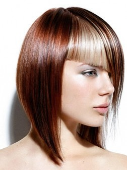two tone brown hair color