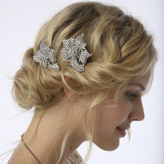 vintage bridal head accessories