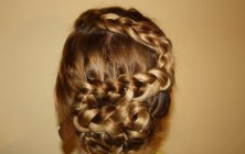 zigzag dutch braid