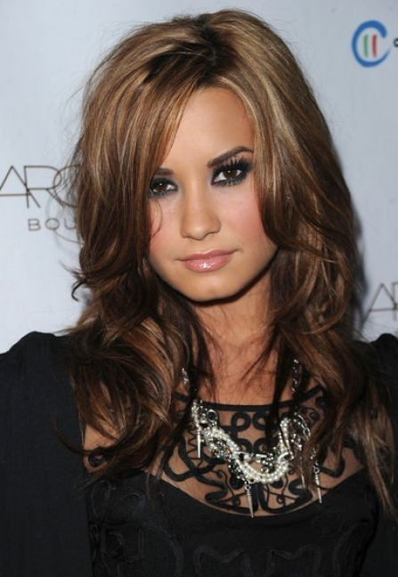 Demi Lovato ombre highlights