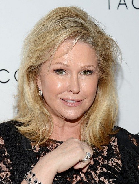 Kathy Hilton hairstyles for women over 40