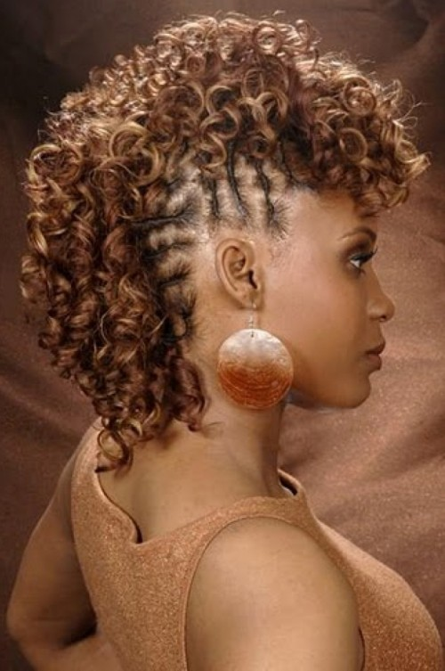 african american mohawk hairstyle