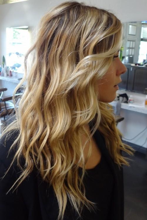 beach waves hairstyles for thin hair