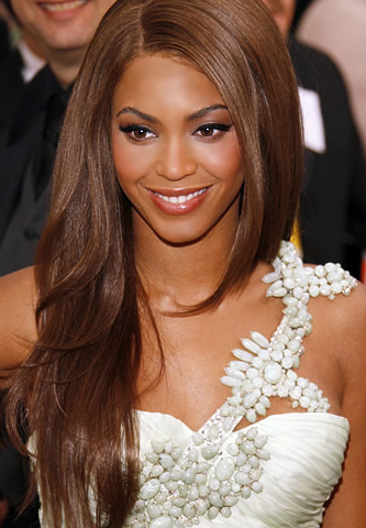 beyonce chocolate brown hair