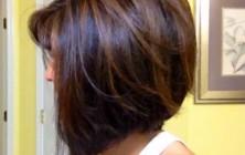 classy bob haircut for thick hair