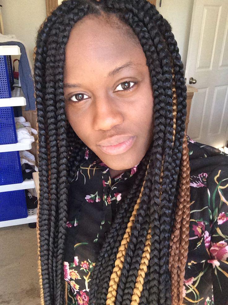 Pin Big Jumbo Box Braids Hairstyles on Pinterest
