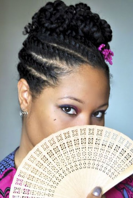 Protective hairstyles for black women created from cornrows can become ...