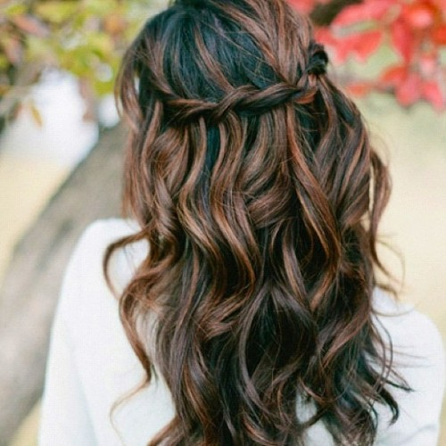 Hairstyles with caramel highlights hairstyles 2017 hair colors dark hair color with caramel haighlights pmusecretfo Image collections