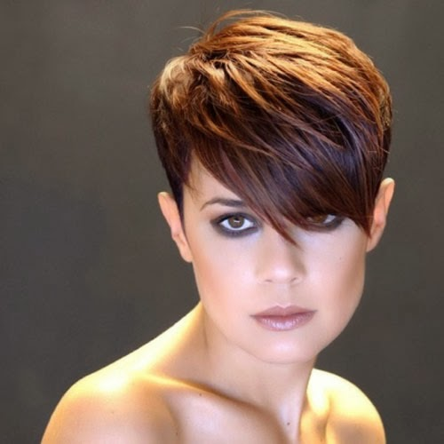 2016 Edgy Short Pixie Hairstyles