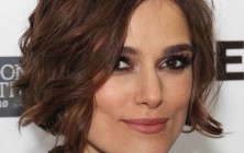 kiera knightley wavy bob for square faces