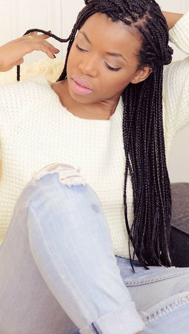 Long Box Braids Ideas Hairstyles 2017 Hair Colors And