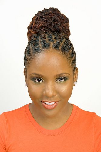 into a bun is very popular hairstyle among African American women ...