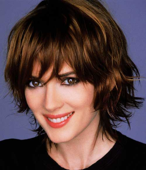 shaggy bob for wavy hair