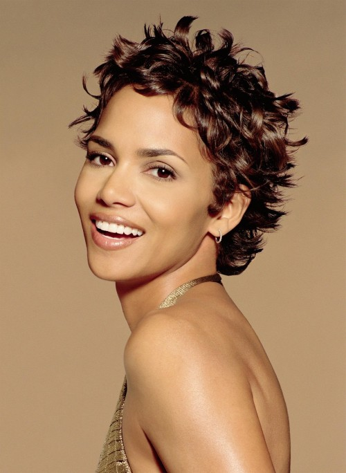 short african american curly hairstyles