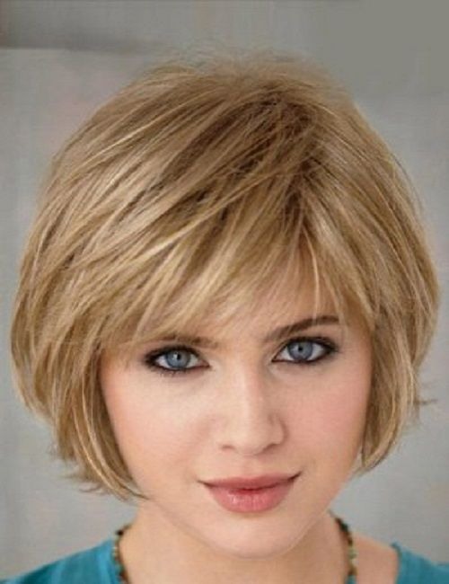 Short Bob Haircuts with Bangs for Fine Hair
