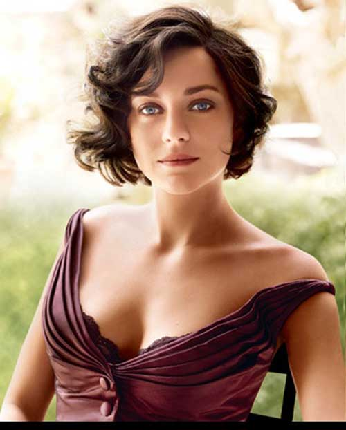 Short wavy hairstyles hairstyles 2017 hair colors and haircuts