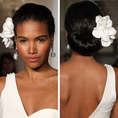 Striking Black Wedding Hairstyles 2014 Hairstyles 2017 Hair Colors