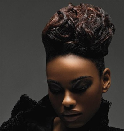 striking black wedding hairstyles 2014 hairstyles 2017 hair colors and haircuts. Black Bedroom Furniture Sets. Home Design Ideas