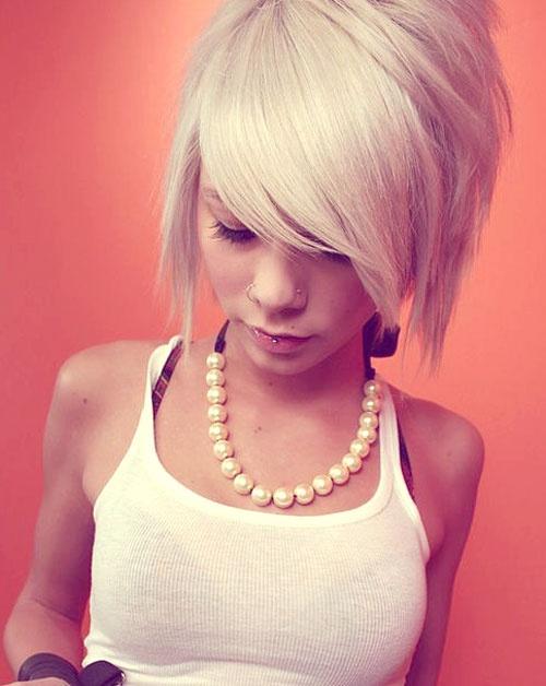 blonde short bob haircuts 2014