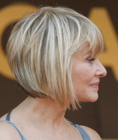 Short Bob Haircuts for Older Women Hairstyles