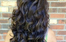 bouncy curly hairstyles