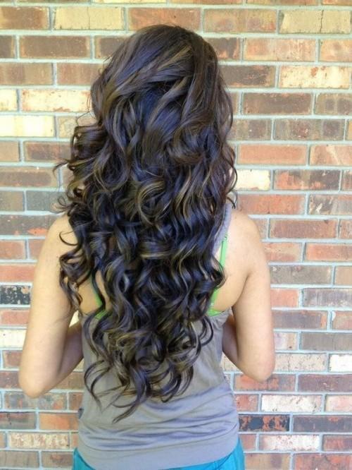 Stupendous Impressive Long Curly Hairstyles Hairstyles 2017 Hair Colors Short Hairstyles For Black Women Fulllsitofus