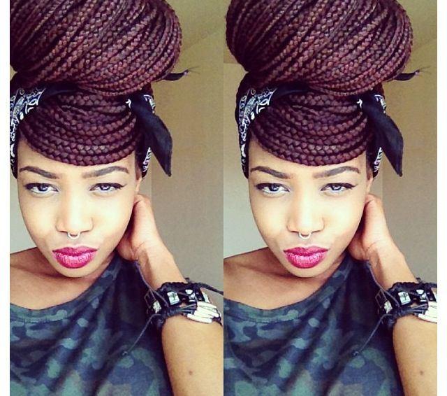 Astonishing 50 Exquisite Box Braids Hairstyles To Do Yourself Box Braids Short Hairstyles For Black Women Fulllsitofus