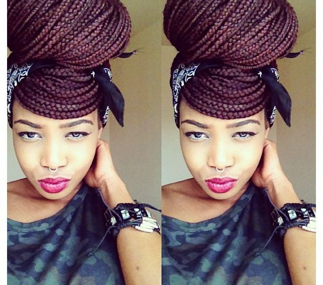 Peachy 50 Exquisite Box Braids Hairstyles To Do Yourself Box Braids Hairstyles For Men Maxibearus