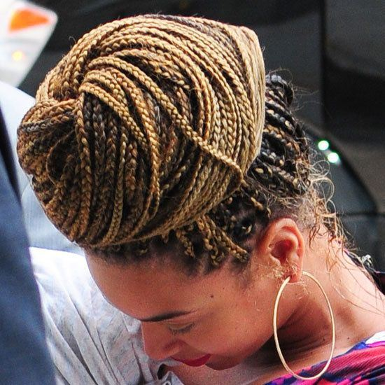 box braids updo styles 2014