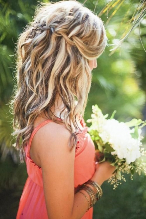 HD wallpapers simple hairstyle for medium curly hair