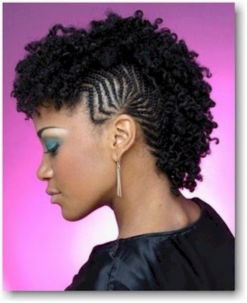 Phenomenal Natural Hair Mohawk Hairstyles 2014 Hairstyles 2016 Hair Colors Short Hairstyles Gunalazisus