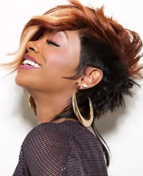 creative mohawk hairstyles for black women