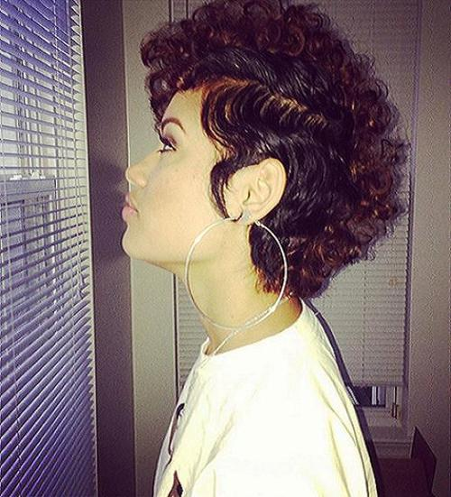 curly mohawk natural hairstyles