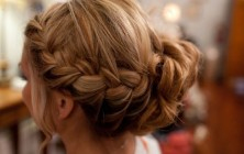 cute low bun hairstyles 2014