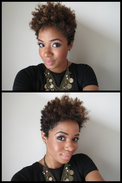 extra short curly hairstyles