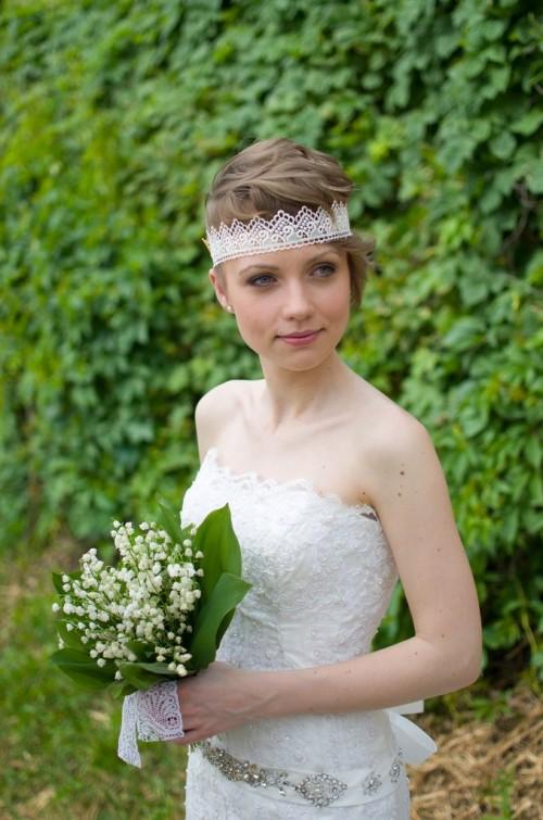 Amazing Stylish Thematic Bridal Hairstyles 2014 Hairstyles 2017 Hair Short Hairstyles Gunalazisus