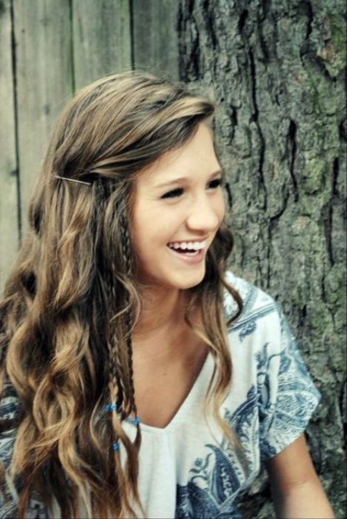 long boho hairstyles for teens 2014