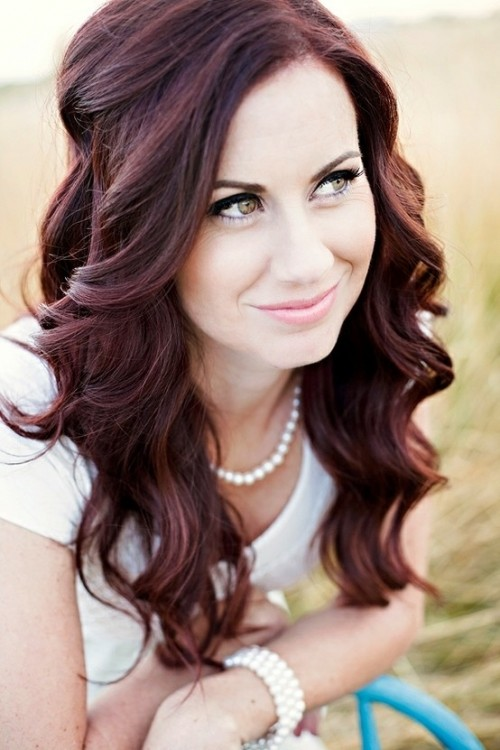 Pleasant Impressive Long Curly Hairstyles Hairstyles 2016 Hair Colors Hairstyles For Women Draintrainus
