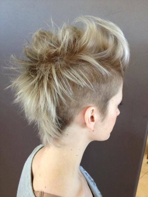 Gorgeous Girl Mohawk Hairstyles 2014 Hairstyles 2017