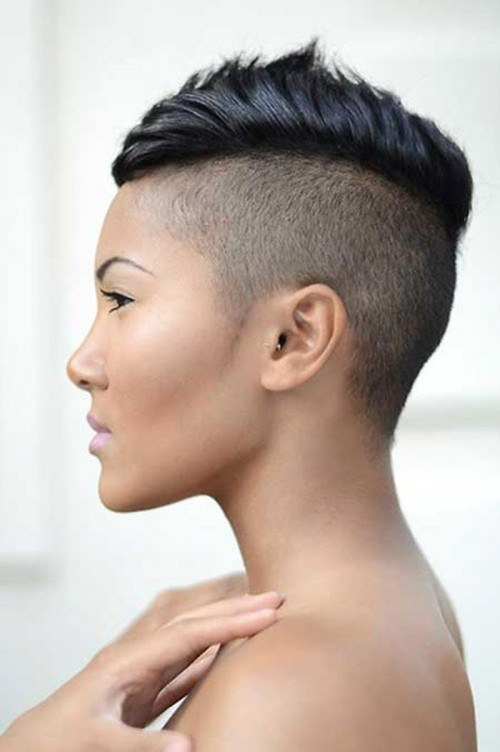 mohawk natural hairstyles for black women